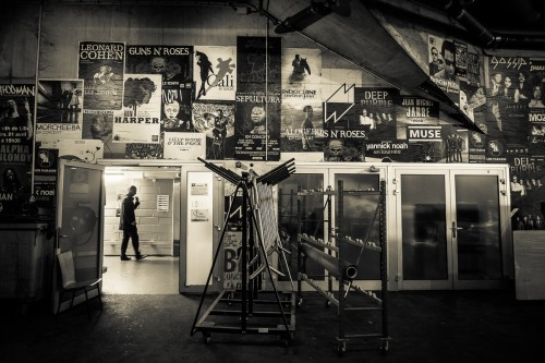 Entrée des artistes - Zenith de Lille